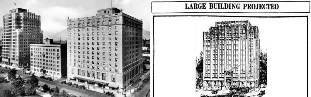 joppa lodge vancouver first skyscraper 1927